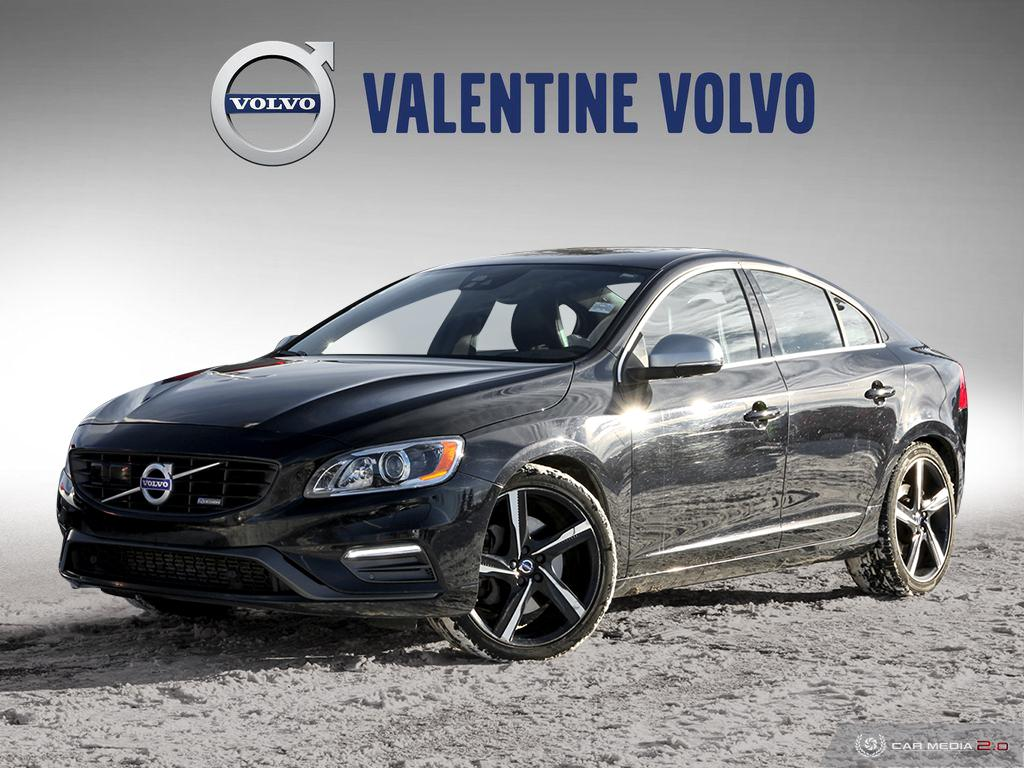 Certified Pre-Owned 2015 Volvo S60 T6 R-Design AWD A Platinum