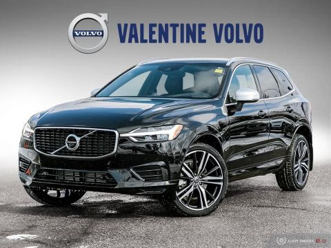 New 2019 Volvo XC60 T8 eAWD R-Design With Navigation & AWD